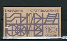 DENMARK 1968 Industry booklet Facit HS1, MNH complete panes inverted