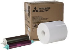 "Mitsubishi 9000 Series 6x9"" Print Kit (CK9069), 1 roll of paper & ribbon per box"