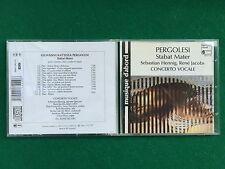 1 CD Musica , PERGOLESI - STABAT MATER CONCERTO VOCALE Henning Jacobs