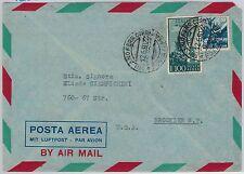 47419 - ITALIA REPUBBLICA  Storia Postale: BUSTA Posta Aerea TARIFFA 115 L. 1950