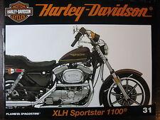 FASCICULE 31 HARLEY DAVIDSON XLH SPORTSTER 1100 / FIRE BIKE ARLEN NESS / VELO