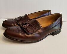 Bostonian Florentine Loafer 24082-61 Made in Italy Leather Dress Shoes Size 10