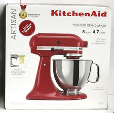 KitchenAid Artisan 5 Quart Tilt Head Stand Mixer Empire Red