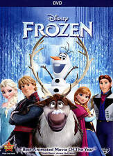 EUC Frozen Disney Olaf Elsa Let It Go Best Animated Movie Of The Yea (DVD, 2014)