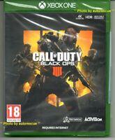 Call Of Duty Black Ops IIII (4)  'New & Sealed' *XBOX ONE (1)*