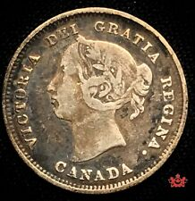 1889 Canada 5 cents - VF - Lot#250