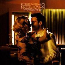 Robbie Williams Nicole Kidman - Something Stupid (CD) NEW! FREE SHIPPING!