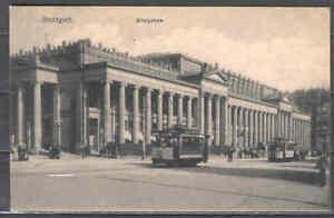 Postcard 0018 Germany Stuttgart architecture buildings