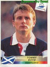 035 tommy boyd scotland Danone back sticker sticker world cup panini France 98