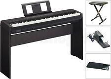 Yamaha P45 B Digital E-Piano SET mit L85 + Staubschutz Hülle + Sitz Bank + Pedal