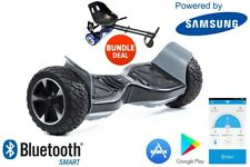 "ZIMX - Black 8.5"" Certified Off Road Swegway Segway Hoverboard with Hoverkart"
