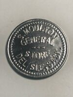 Token A. Moulton General Store Delisle Sask Gd For .05 Cents In Mechs C28