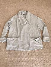 Light Grey Oversize Sweatshirt Cardigan Jacket  Toast Sweaty Slouch