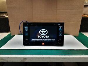 Toyota 86100-08073 2016 - 2017 Sienna CD Navigation HD Radio JBL OEM 510158