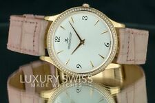 Jaeger-LeCoultre Master Ultra Thin 145.2.79.S Diamond 18K Pink Gold -Pre-Owned