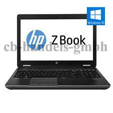 HP ZBOOK 15 15,6 ZOLL INTEL CORE i7 4800MQ 2.70GHZ 8GB RAM 500GB HDD WINDOWS 10