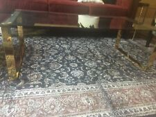 BRAND NEW GOLD/GLASS COFFEE TABLE