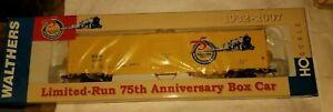 HO Walthers Gold Line 60' Auto Parts Box Car 75th Walthers Anniversary NIB