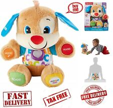Fisher Price Laugh and Learn Smart Stages Puppy Toddler Learning Toy Stuffed Dog