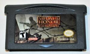 MEDAL OF HONOR: INFILTRATOR NINTENDO GAMEBOY ADVANCE SP GBA