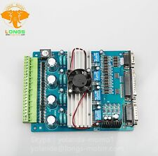 4-axis driver board TB6560 peak 3.5A, 16 micsteps mach3 software Longs Motor