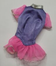 New listing BARBIE DOLL CLOTHES PURPLE & PINK TULLE GLITTER TOP SHIRT FASHION STYLE CUTE