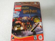 Lego Creator Harry Potter PC CD-Rom - Vintage Software 2001 - New/Sealed