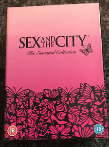 Sex And The City The Essential Collection Series 1-6 Complete Box Set DVDs 2009