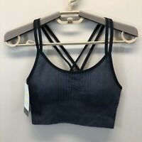 Women's Long Line Seamless Sports Bra - C9 Champion Sz XS Ebony
