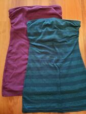 2 Wet Seal Tube Tops xs Extra Small