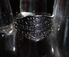 HARLEY DAVIDSON MOTORCYCLE STAINLESS STEEL RING Size 11.5
