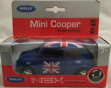 WELLY MINI COOPER BLUE