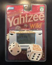 2005 Yahtzee Wild Touchscreen Handheld Game Hasbro 44251 Brand New! Very Rare!