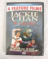 Jackie Chan The Action Pack DVD 2010 Young Tiger Fire Dragon Eagle Shadow Fist