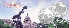 2018 Texas Silver Round - The Lone Star State 1 oz .9999 Silver BU USA Round