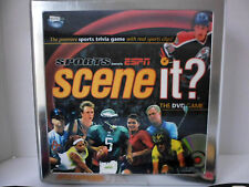 Scene It? Collector's Tin Espn Sports Edition The Dvd Trivia Game 100% Complete