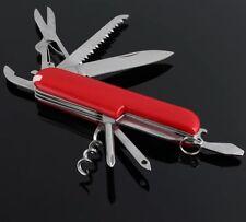 Multi-function 9 in 1 Folding Blade Knife Stainless Steel Bottle Opener,