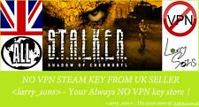 S.T.A.L.K.E.R.: Shadow of Chernobyl Steam key NO VPN Region Free UK Seller