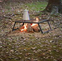 "Ozark Trail Heavy-Duty Camp Over-fire Grill, 24"" x 16"" Camping Outing Cooking"