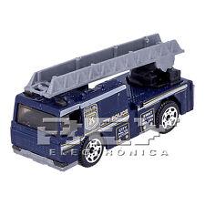 Camión Bomberos Americano Azul Vehiculo Rescate Coleccion ¡Desde España! j232