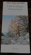 Fall Foliage Adventure, Air/Motorcoach Tour, Vintage Informational Tour Pamphlet