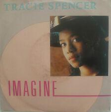 """7"""" 1988 CV JOHN LENNON ! TRACIE SPENCER : Imagine (VG+)"""