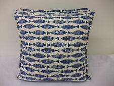 1 NEW NAUTICAL CUSHION COVER IN HARLEQUIN SCION SAMAKI FISH