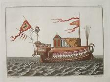 Kleopatra Cleopatra Segelschiff Galeere Ägypten Egypt Ruder Anker Segel Antike