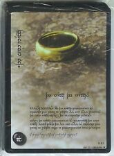 LOTR WAR OF THE RING FOIL TENGWAR ANTHOLOGY 18 CARD SET