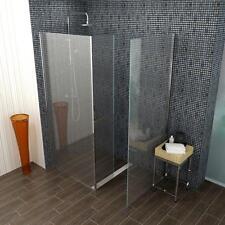 begehbare Duschkabine140x90cm, 8mm Echtglas mit Glasbeschichtung
