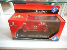 Solido Citroen C4F Ambulance in Red on 1:43 in Box