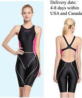 Kneeskin Swimsuit one piece training swimsuit racing swimsuit, Yingfa 953-1
