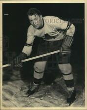 1959 Press Photo Hockey Player Wilf Field Poses on Ice - hps24110
