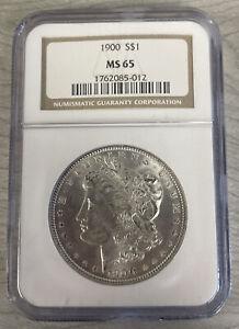 1900 S$1 MS65 NGC Morgan Silver Dollar